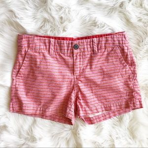 Merona Orange and Pink Patterned Shorts j723